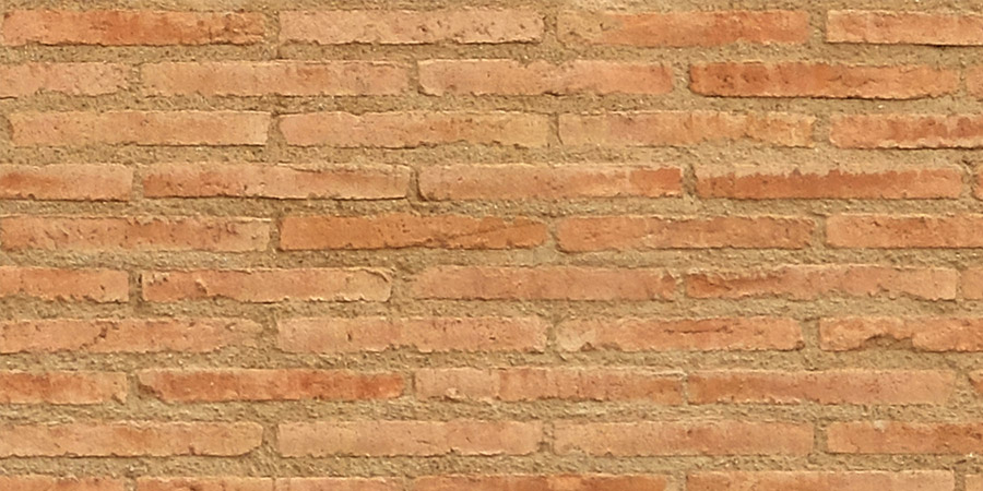Close up detail of brick texture